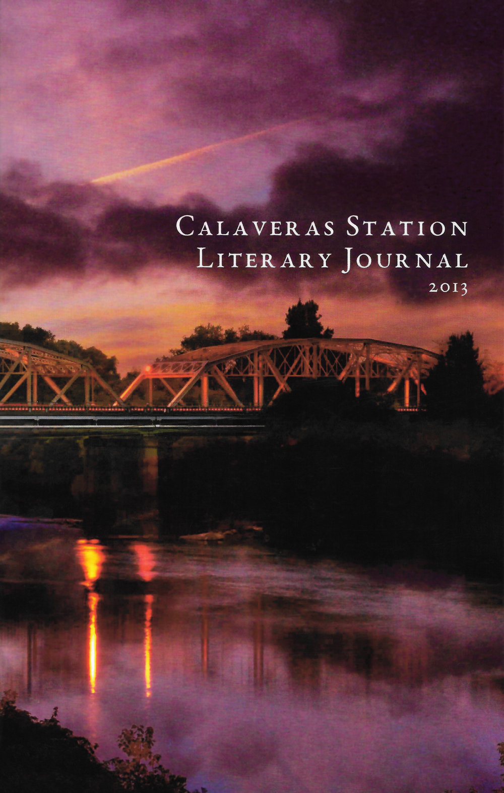 Calaveras Station Literary Journal cover, 2013