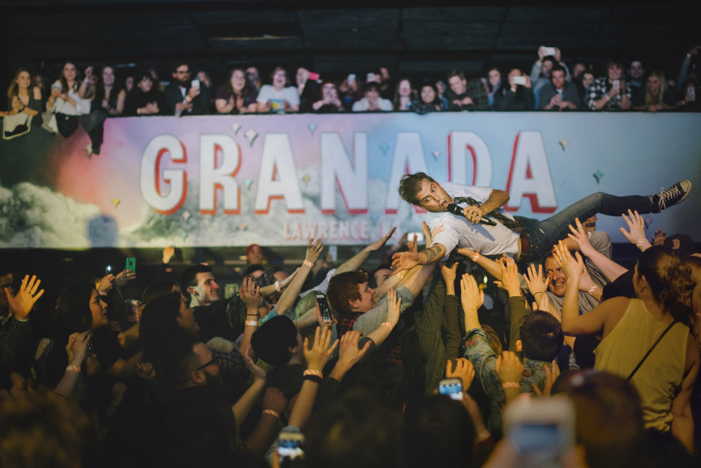 January 2016 • Jack's Mannequin • The Granada Theater • Lawrence, KS