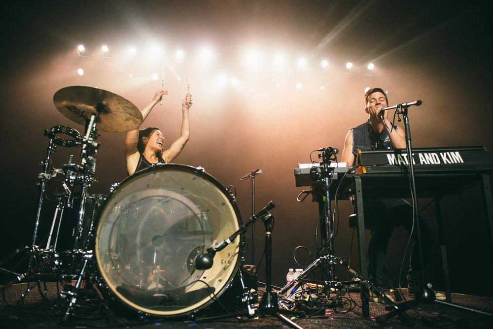 November 2016  • Matt and Kim  • The Bomb Factory • Dallas, TX