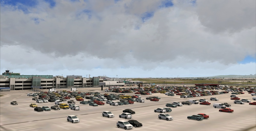 Developers, I can not stress this enough. Parking lots with 3D cars are the norm now. They are what we expect these days. Here, we get a very accurate feel that there are people here... even though we never actually see them...