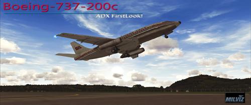MilViz 737-200c | By D'Andre Newman