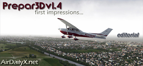 Prepar3D v1.4 First Flight | By D'Andre Newman