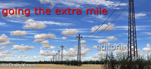 Going The Extra Mile | By Mark Hrycenko