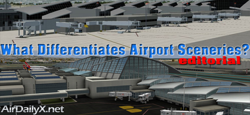 What Differentiates Airport Sceneries? | By Mark Hrycenko