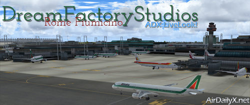 DFS Rome Fiumicino | By D'Andre Newman