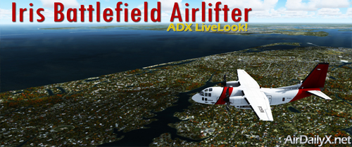 Iris Battlefield Airlifter | By D'Andre Newman