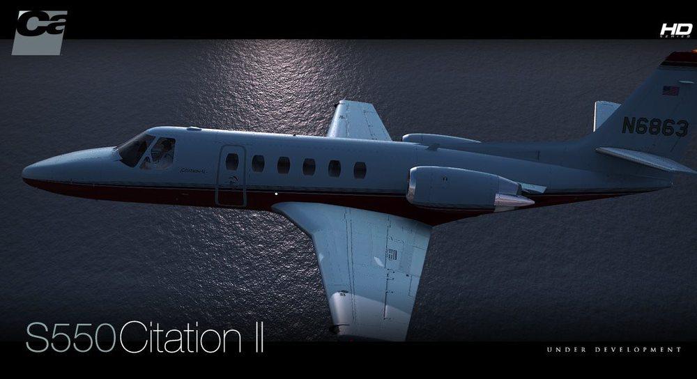 Carenado Cessna Citation Cessna S550 Citation ii