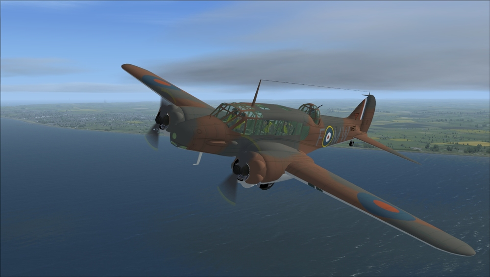 Dave Garwood's freeware Anson was released in 2004 for FS9. It stills looks pretty good in FSX today, but is certainly showing its age.