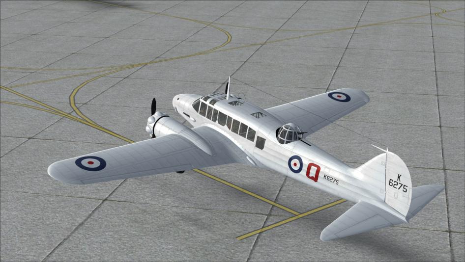 RAF silver-dope