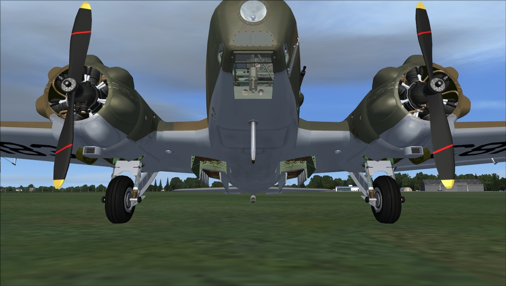 FSAddon has detailed textures on the engines and props…