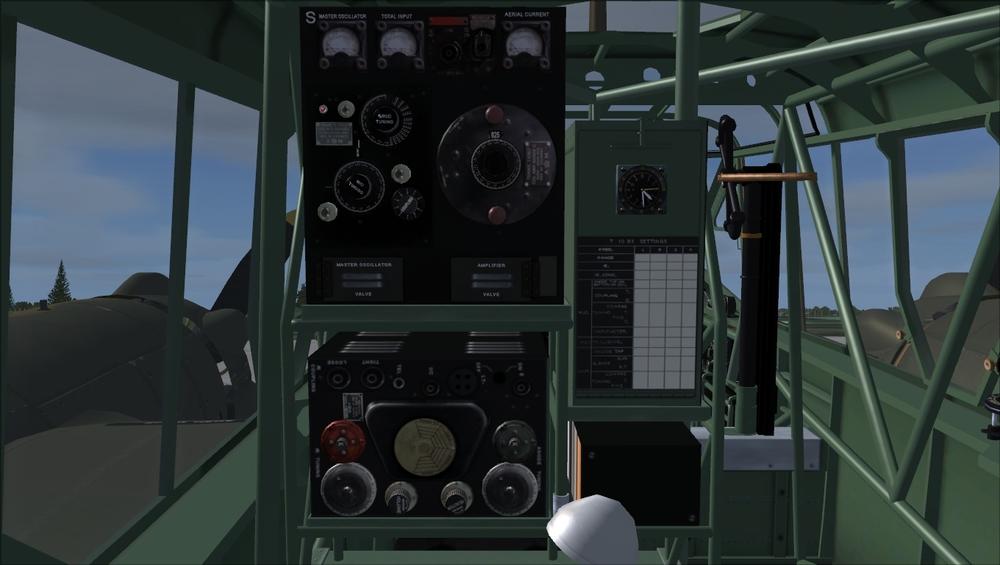 FSAddon – Radio Operator's position