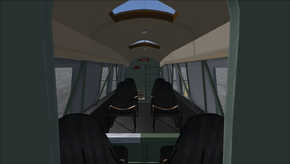 The Mk.12 has a passenger interior.