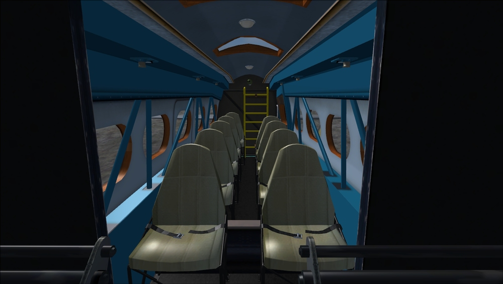 And the nicely-appointed civilian interiors come with the Mk.19 models.