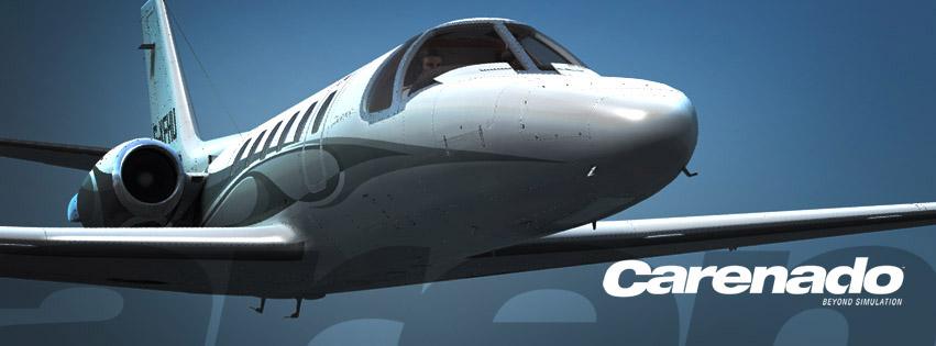 Carenado Cessna Citation Carenado S550 Citation ii Sp1