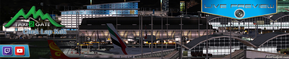 ARCHIVE TWITCH PREVIEW: taxi2gate chek lap kok