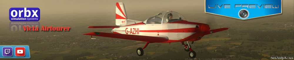 ARCHIVE TWITCH PREVIEW: orbx victa airtourer