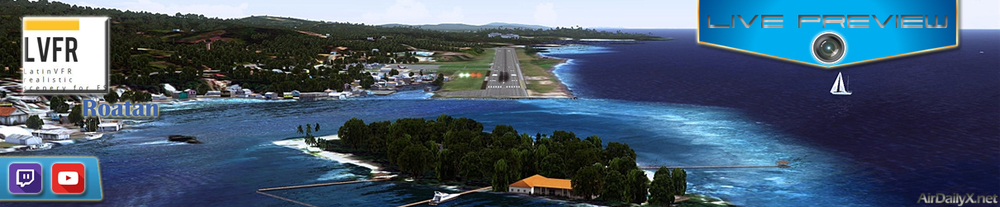 ARCHIVE TWITCH PREVIEW: latin vfr roatan