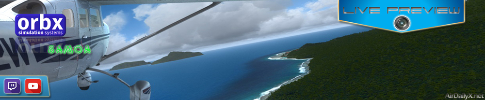 ARCHIVE TWITCH PREVIEW: Orbx Samoa