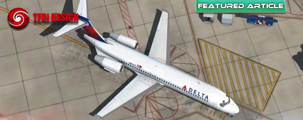 TFDi Boeing 717