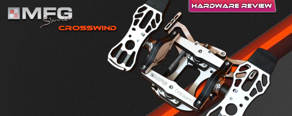 MFG Crosswind Rudder Pedals: