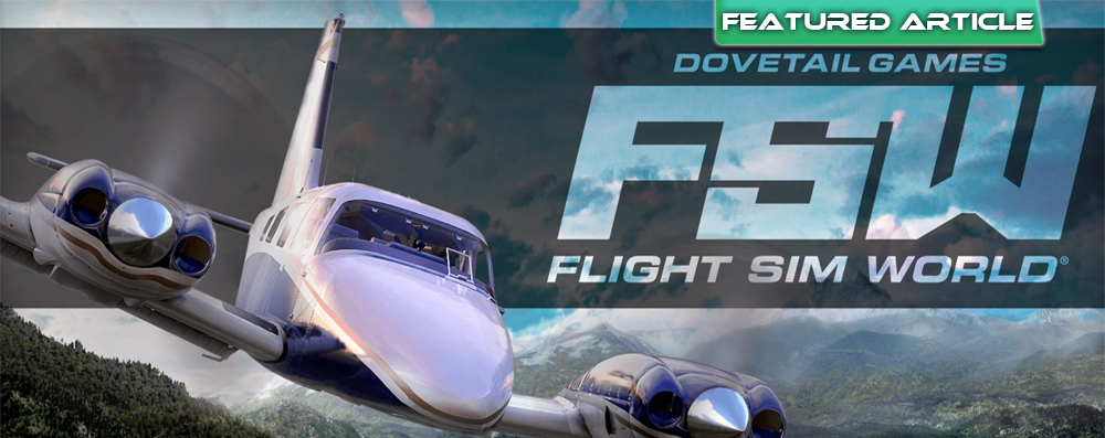Dovetail Games Introduces New Flight Simulation Platform!