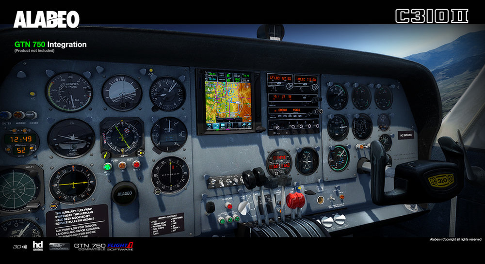 Alabeo Cessna C310R Released! — airdailyx