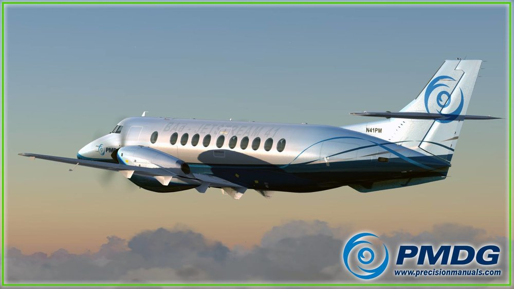 Hey... this isn't news! You're right. If you've been living under a rock for the last week it is, but all know that you haven't been. The British Aerospace Jetstream 41 is coming for P3D. No date but it sounds like pretty darn soon. I promise we won't be super late on that announcement.