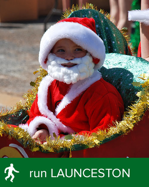 + the LAUNCESTON Santa Run