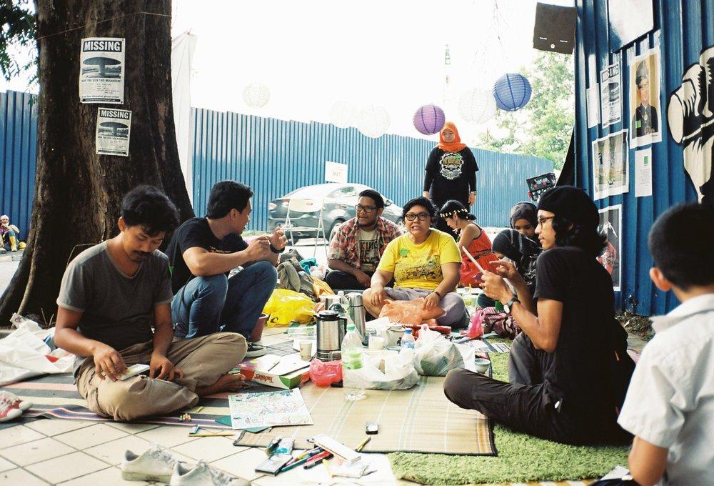 Reclaim Merdeka Park, Kuarla Lumpur, 2013