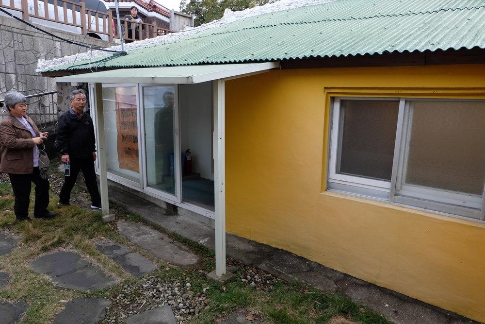 チェジュの伝統家屋を改装した「Yang!」のギャラリー。
