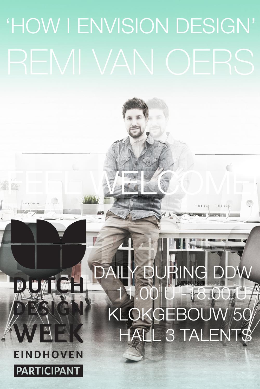 Invitation DDW 2014 Remi van Oers.jpg