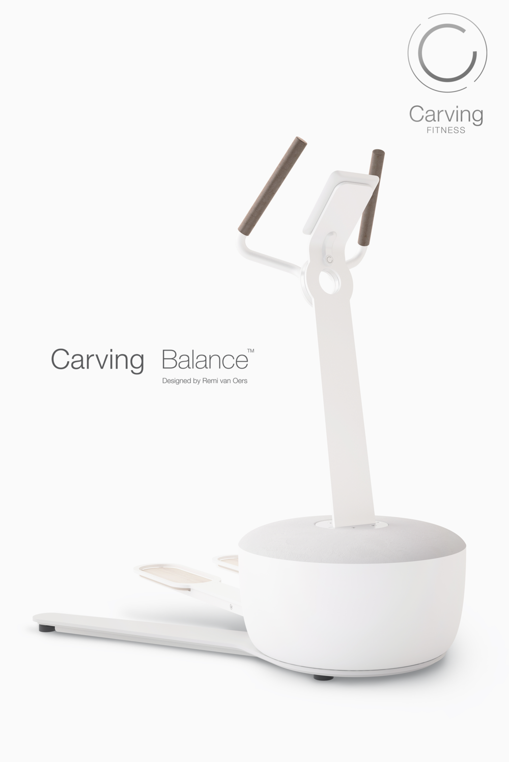 The Carving Balance designed by REMI VAN OERS for Carving Fitness.