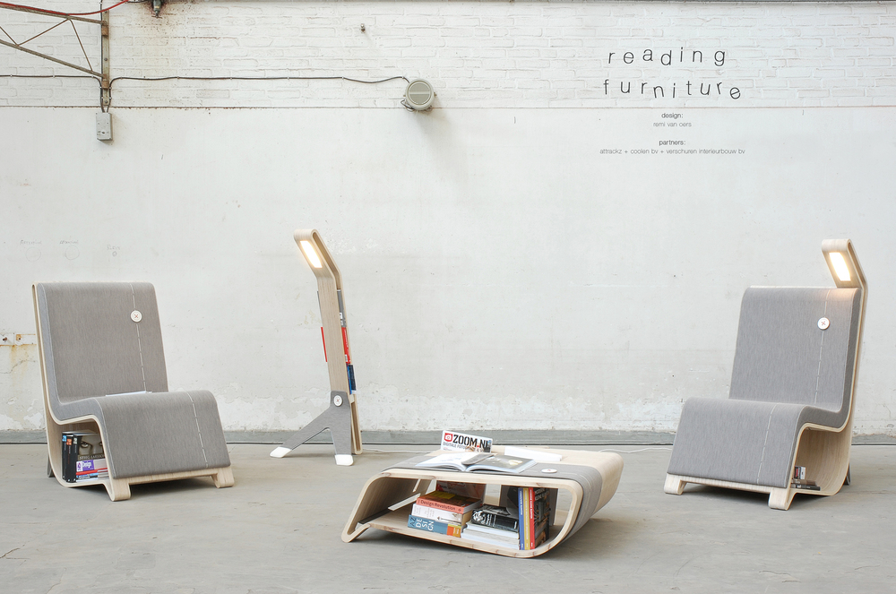 'Reading Furniture' by Remi van Oers in 2010