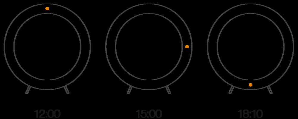 NEW TIME innovative clock