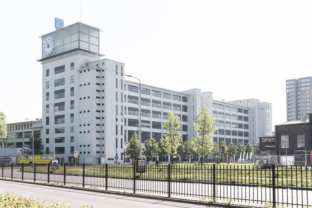 Klokgebouw designstudio strijp s Eindhoven