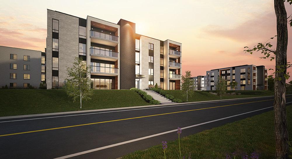 Habitations albatros dka architectes for Architecte st eustache