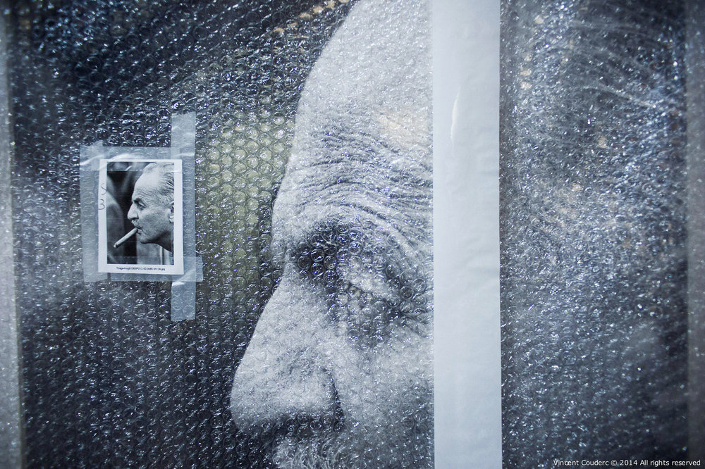 Darryl F. Zanuck  Exposition sur le travail du photographe Henri Dauman Palais d'Iéna,Paris, 2014.   www.manhattan-darkroom.com