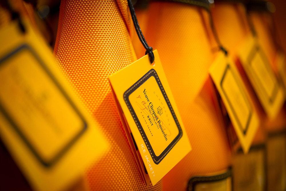 Ice Jacket de la maison Veuve Clicquot Ponsardin du groupe Moët Hennessy  Terminal LACM Roissy Charles de Gaulle