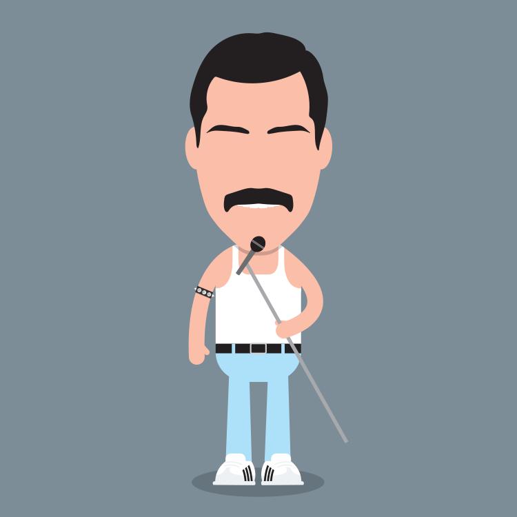 Freddie Mercury (Mo-rcury?)