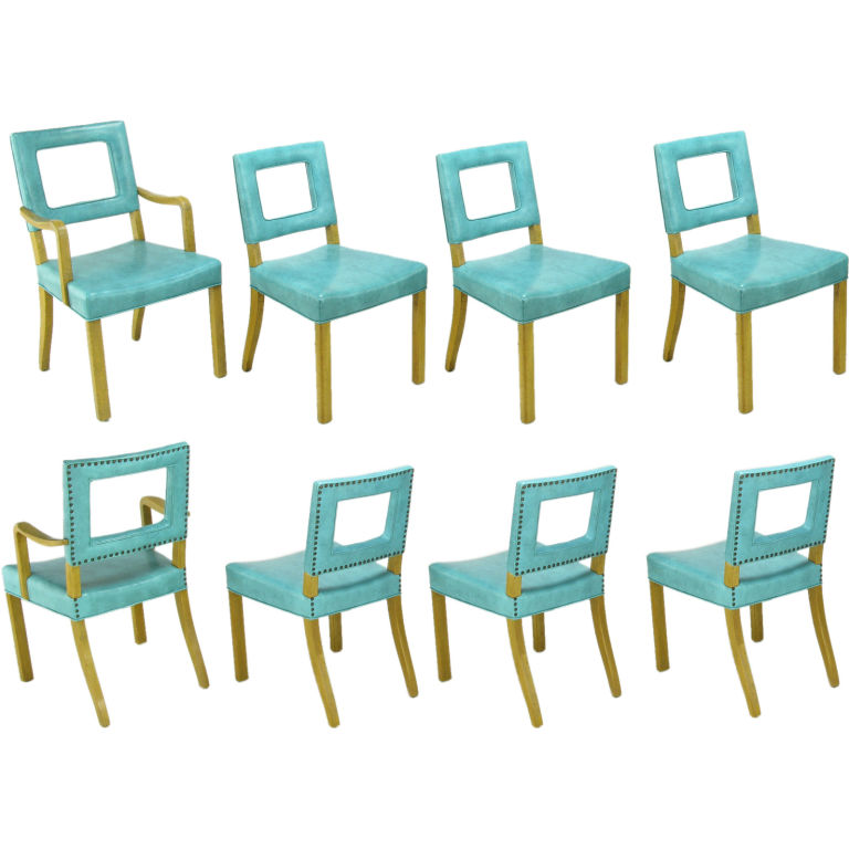 Vinyl smackdown mfamb my favorite and my best - Turquoise upholstered dining chair ...
