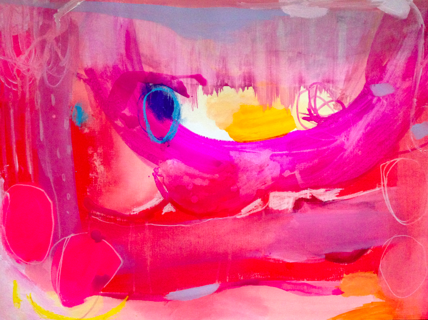 pink swamp   18 x 24