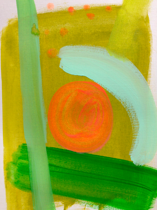 green contrast   9 x 12