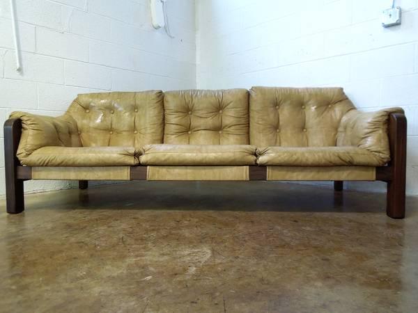 percival lafer-style sofa- $395
