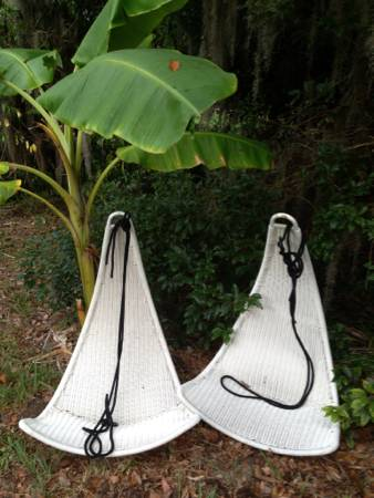 hanging chairs- $100