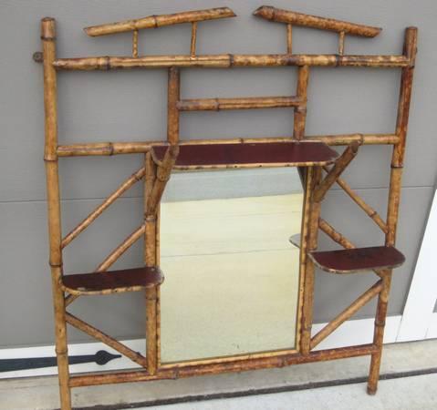 bamboo shaving stand- $140