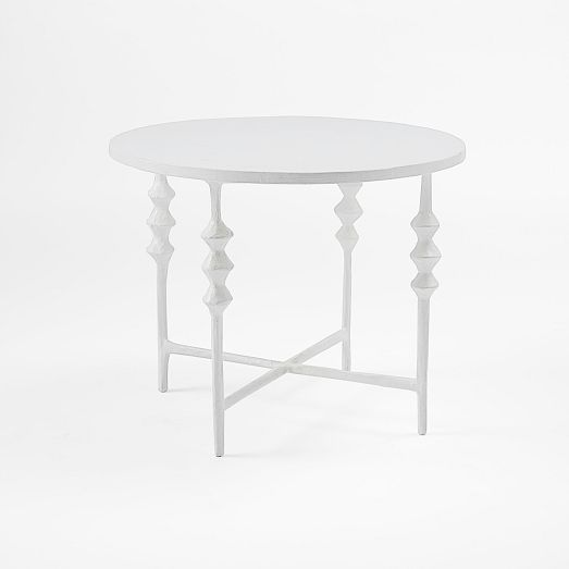 west elm papier mache side table