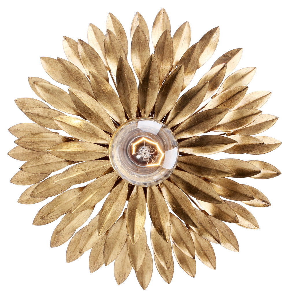 broche 1-light ceiling mount