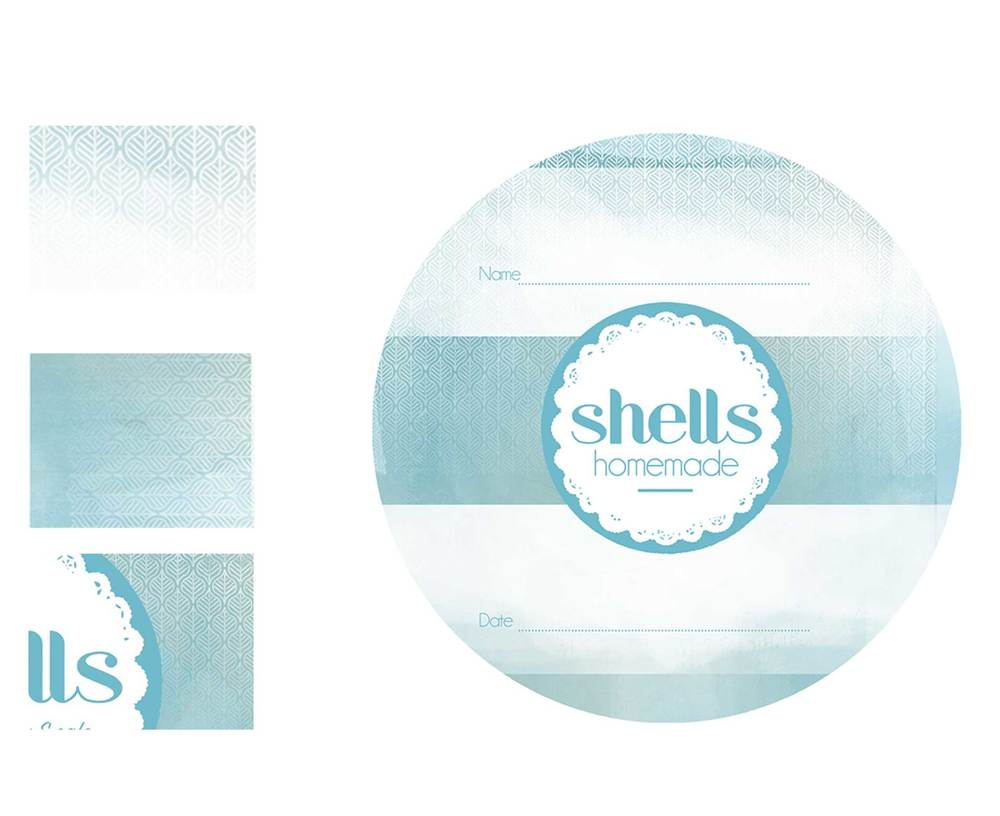Working on these beautiful labels with the wonderful Jane and Miles of 'Shells Cafe' in Strandhill, Ireland
