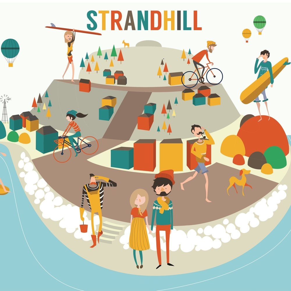 Reddin designs Strandhill Illustration