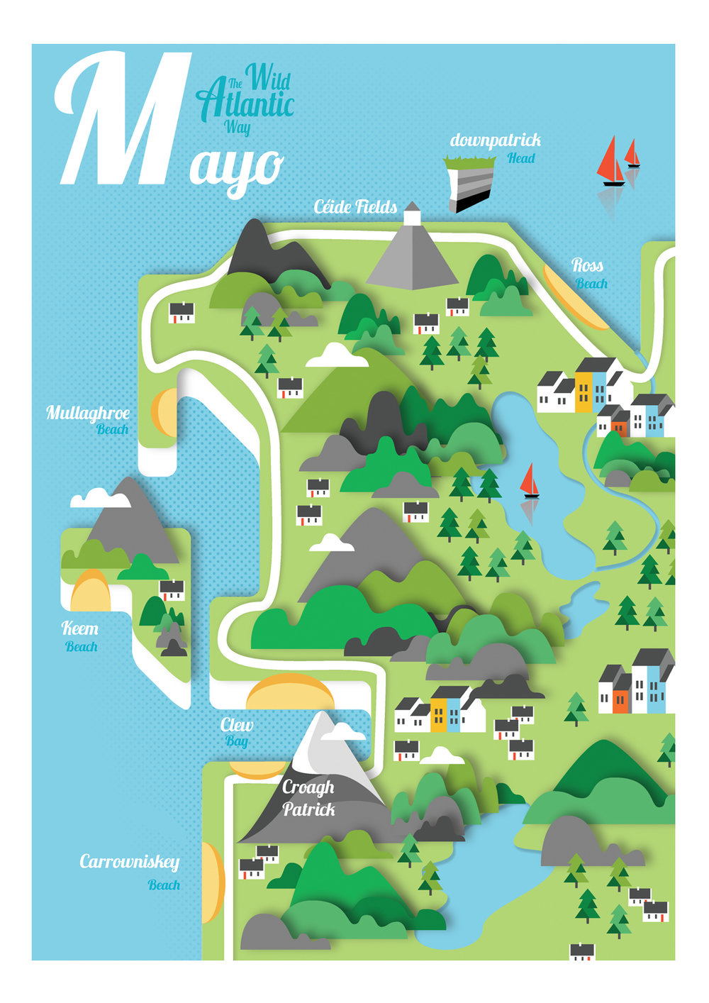 map of mayo